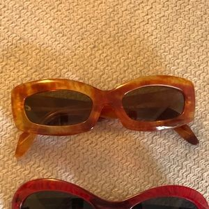 Sonia Rykiel   Rectangle Mod Sunglasses